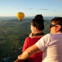 Photo From Hot Air Balloon Gold Coast