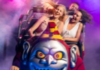 Scooby Doo Spooky Coaster Next Generation Photo From Movie World Website